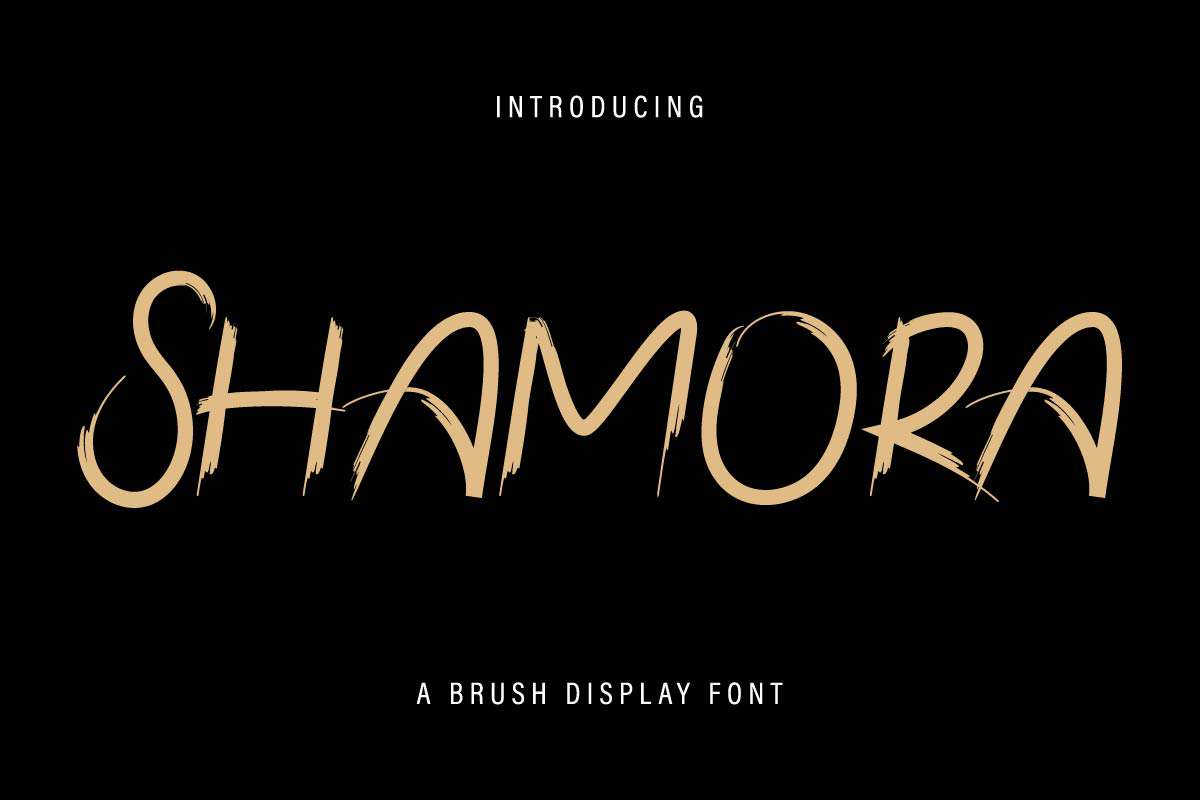 Shamora-Font