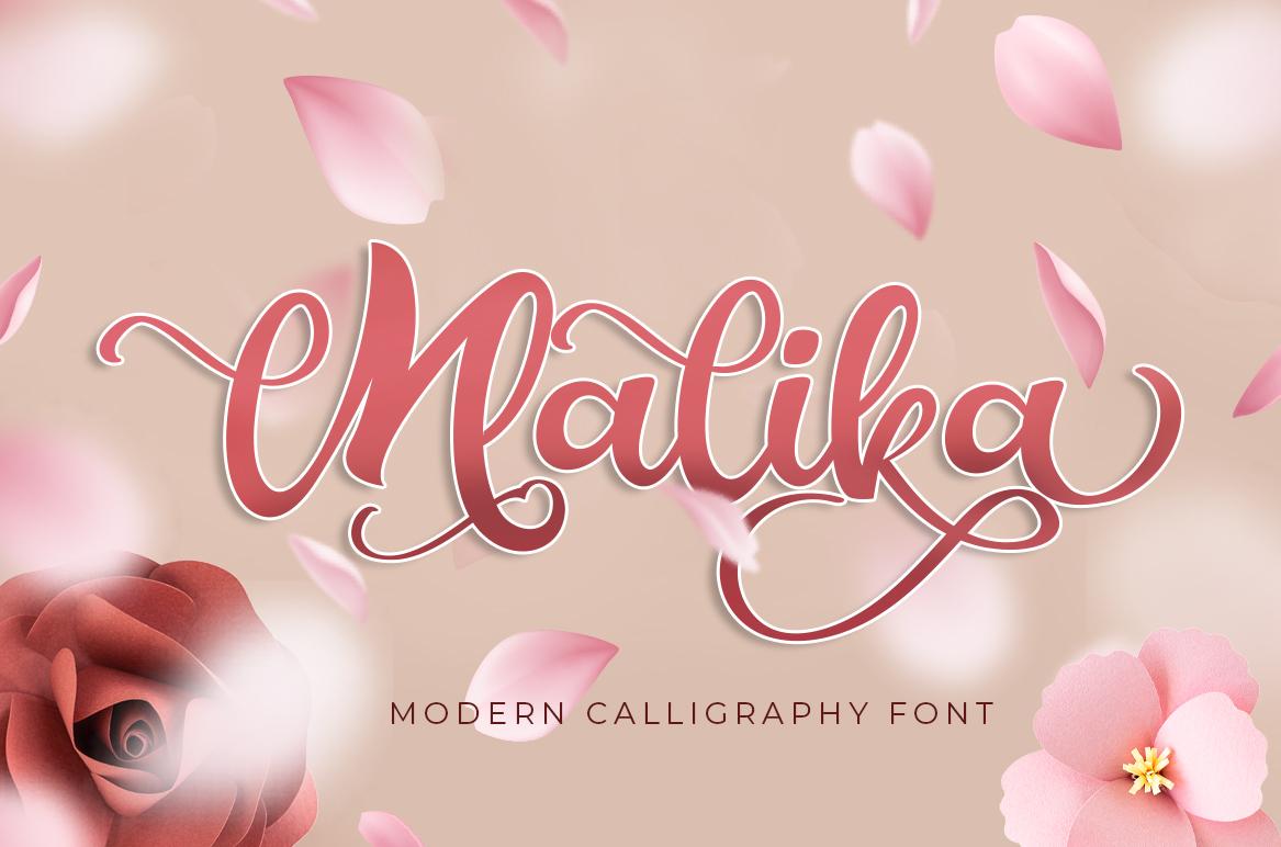 Malika-Font