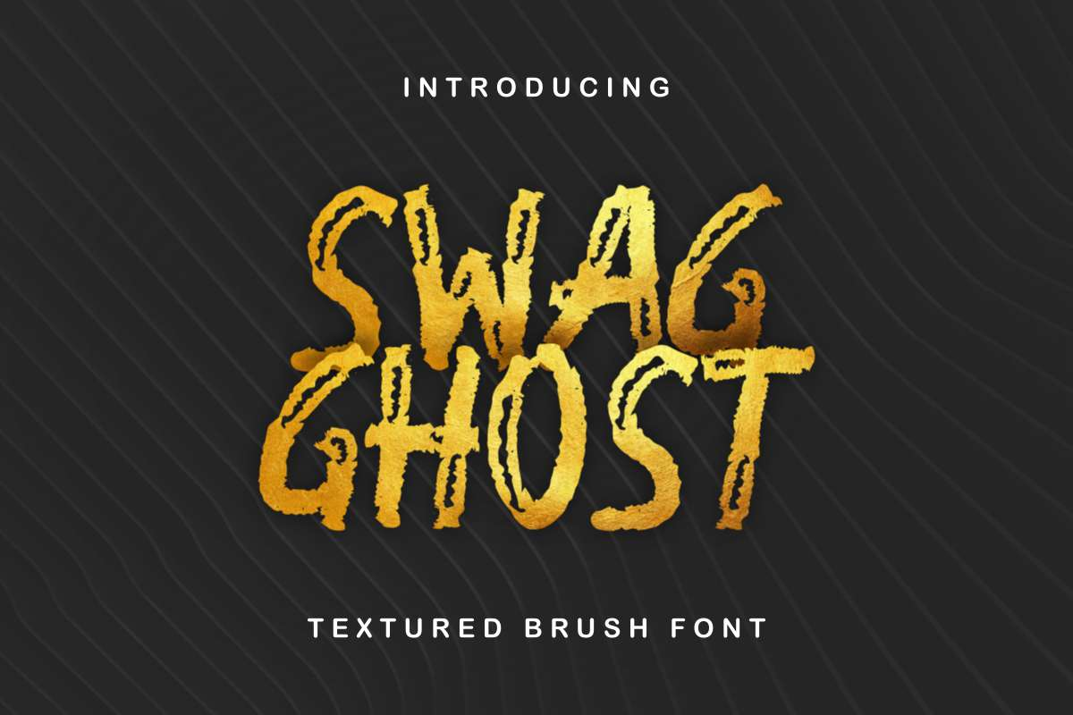 Swag-Ghost-Font