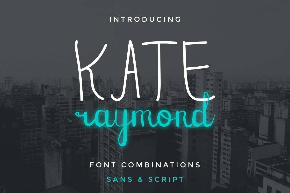 Kate-Raymond-Font
