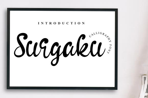 Surgaku-Font