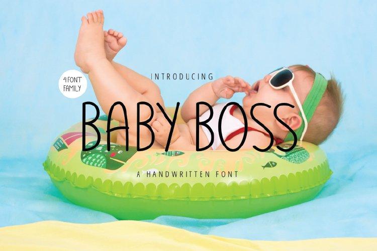 Baby-Boss-Font