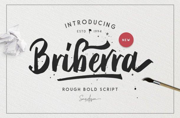 Briberra Script Font