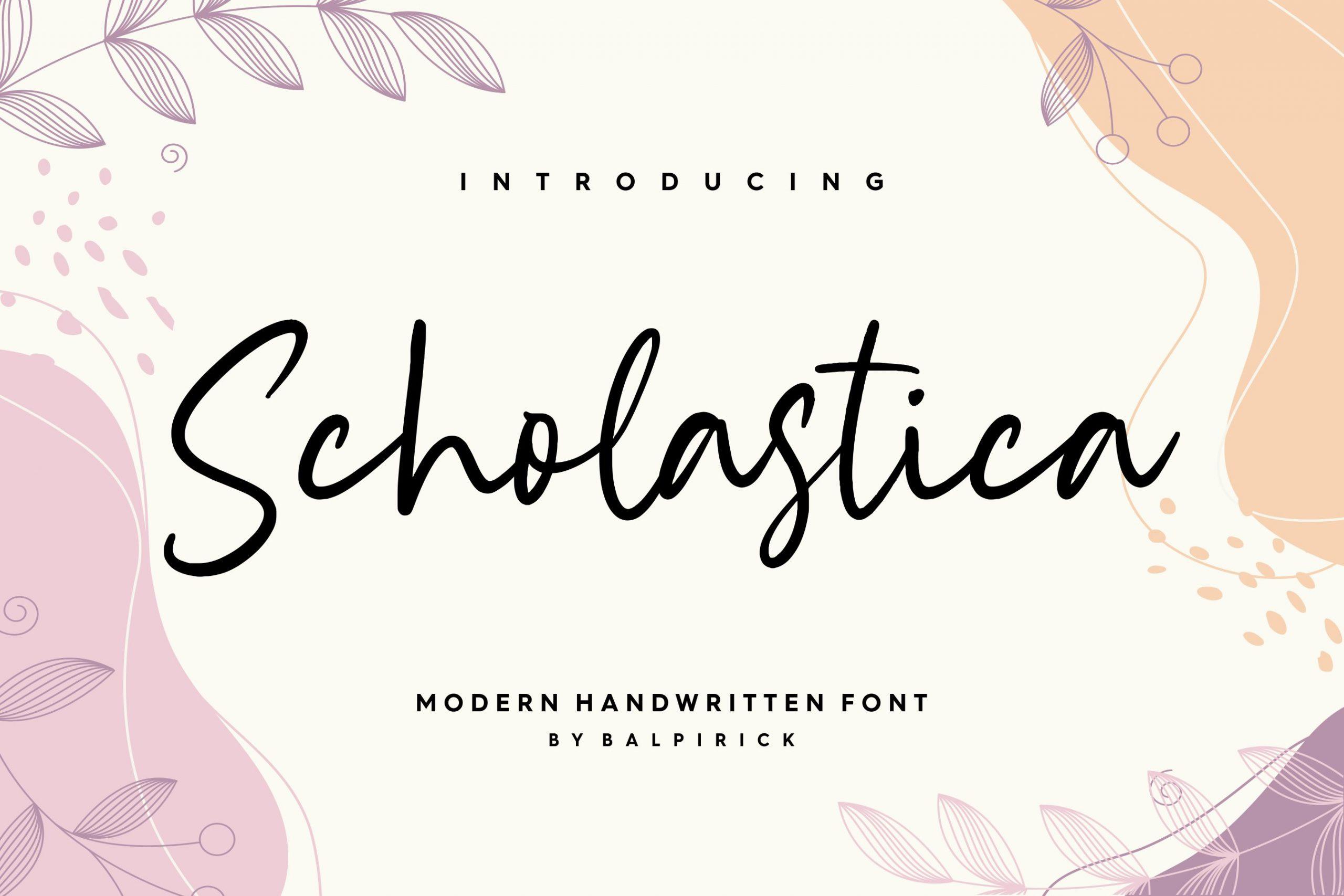 Scholastica-Font