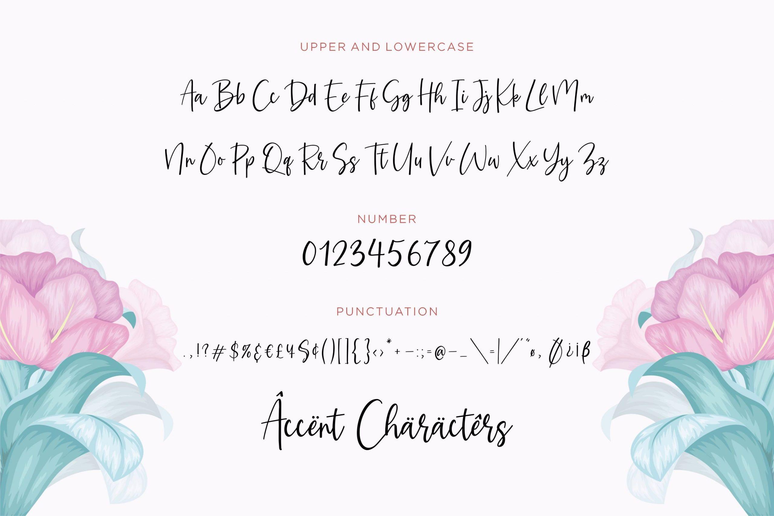 Amarylli-Blossom-Font-3