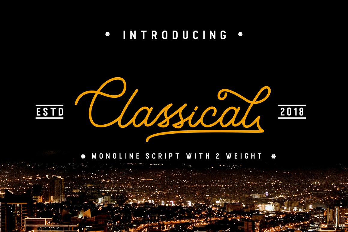 Classical-Font