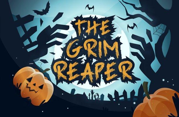 Grim Reaper Handbrush Font