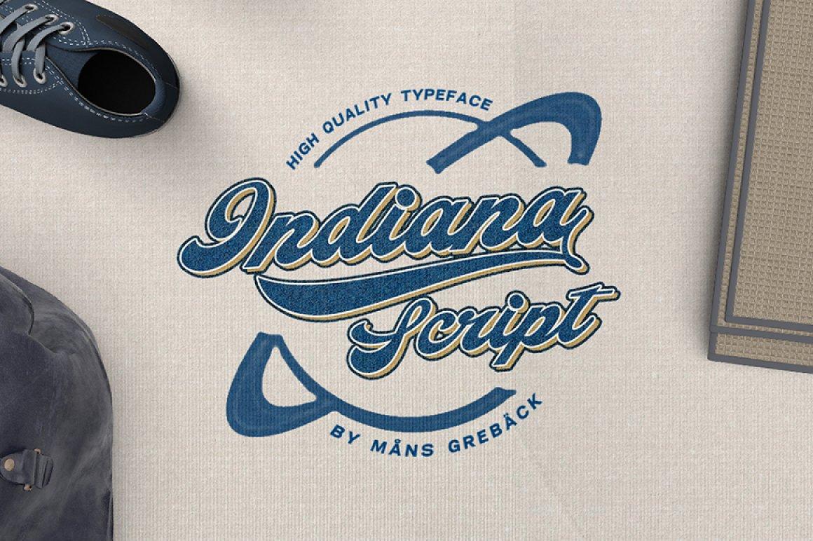 Indiana-Script-Font