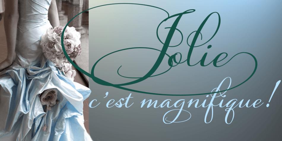 Jolie-Font