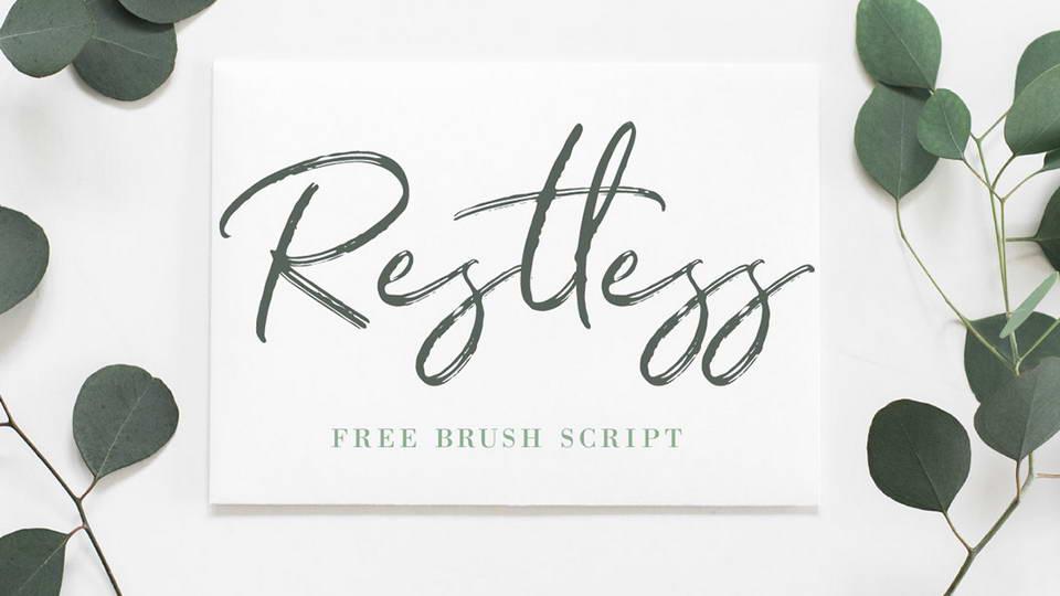 Restless-Brush-Font
