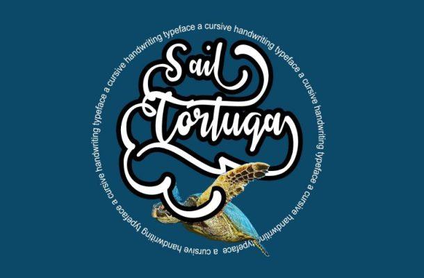 Sail Tortuga Script Font