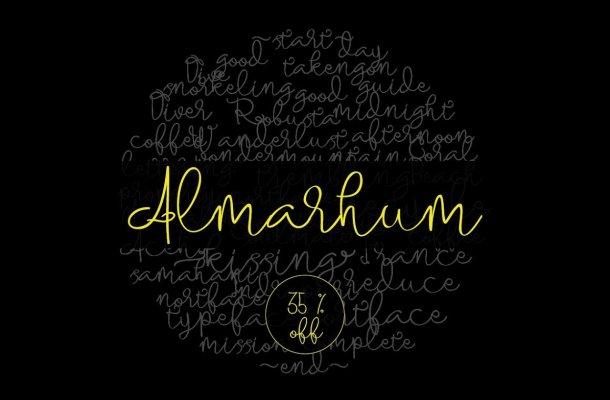 Almarhum Font