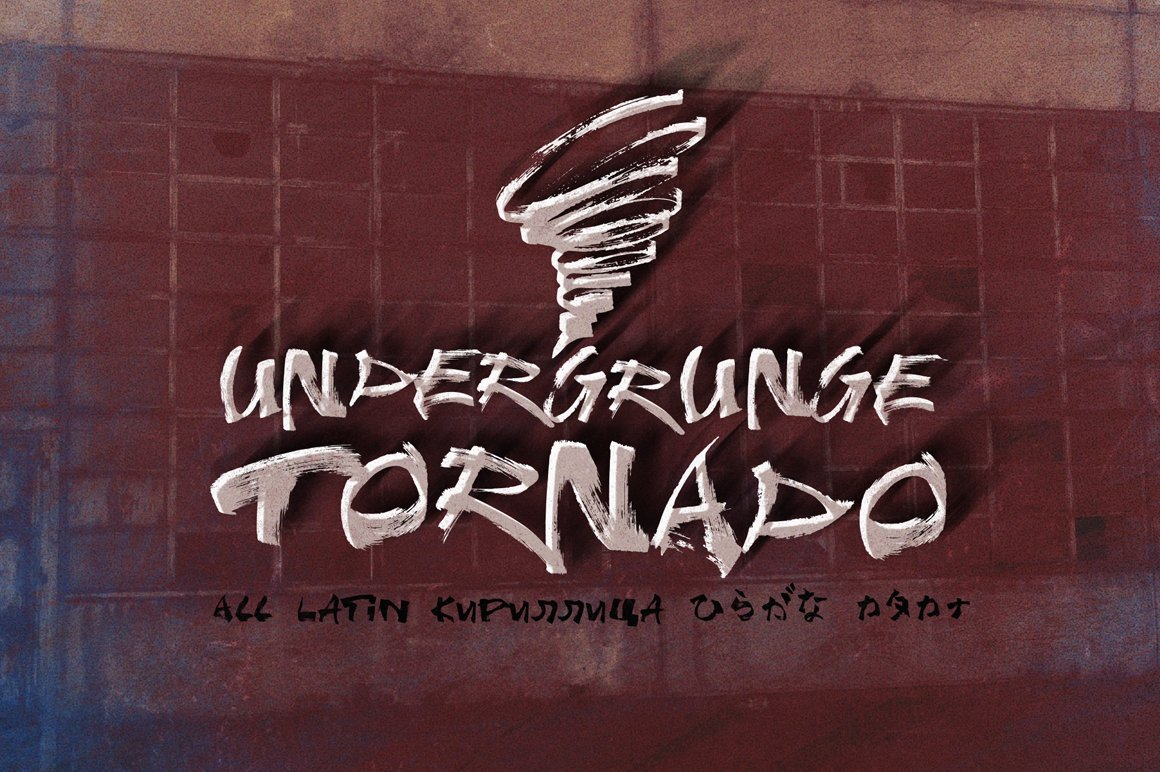 Undergrunge-Tornado-Font