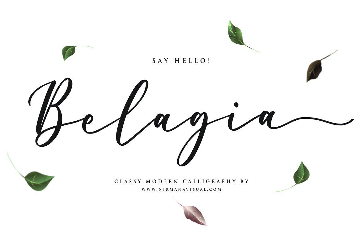 Belagia-Font
