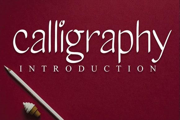 Calligraphy Script Font