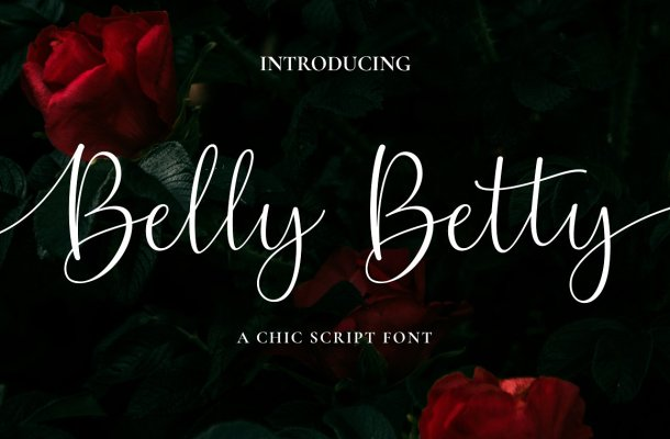 Belly Betty Script Font
