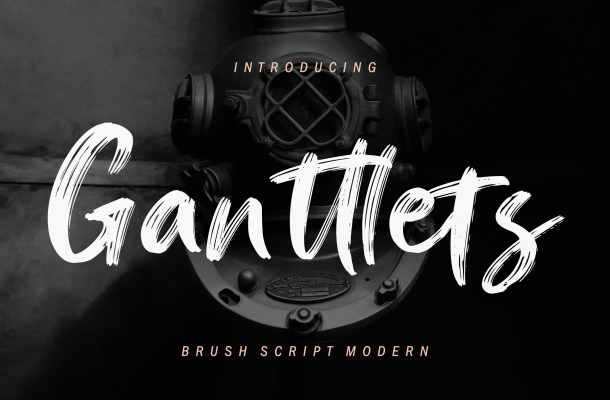 Ganttlets Font