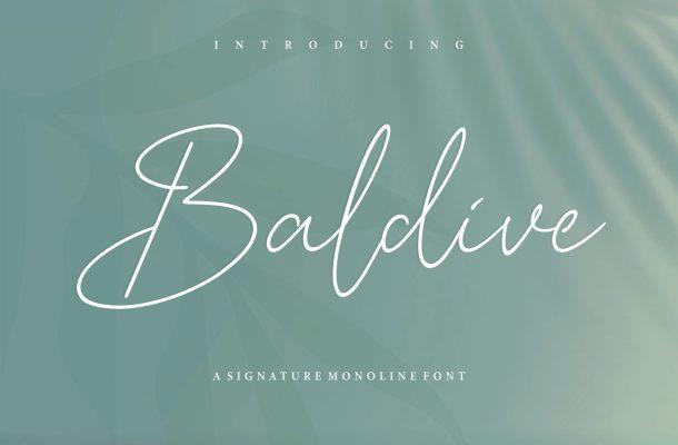 Baldive Font