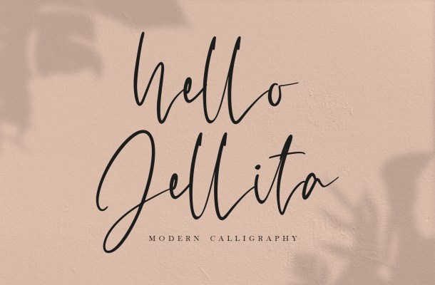 Hello Jellita Font