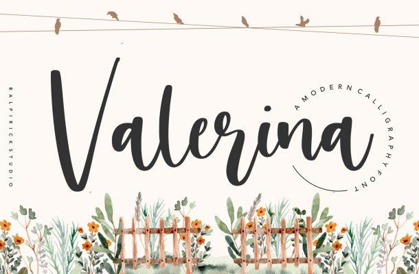 Valerina Font