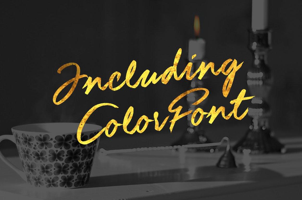 Guld-Script-Color-Font-2