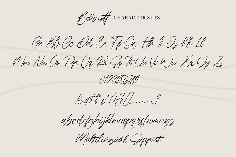 Barnett-Signature-Font-3
