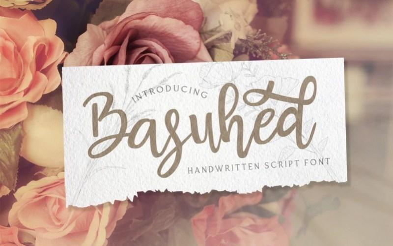 Basuhed-Calligraphy-Script-Font-1