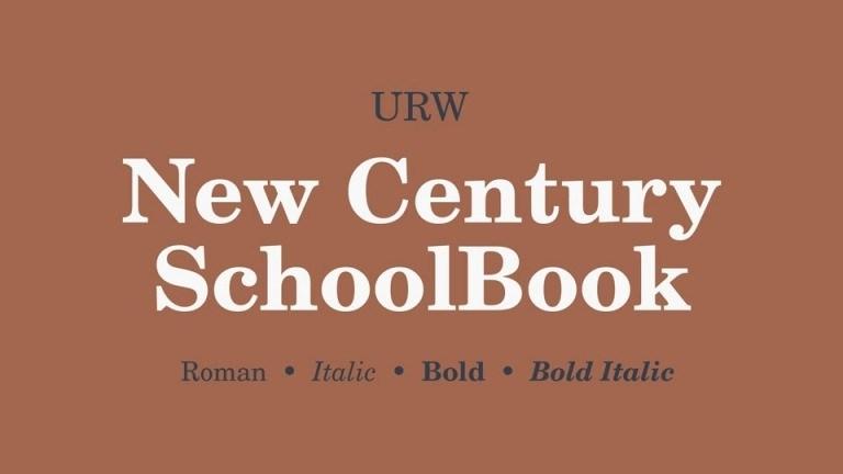 Century-Schoolbook-Serif-Font-1