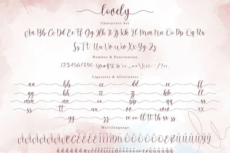 Lovely-Calligraphy-Font-3