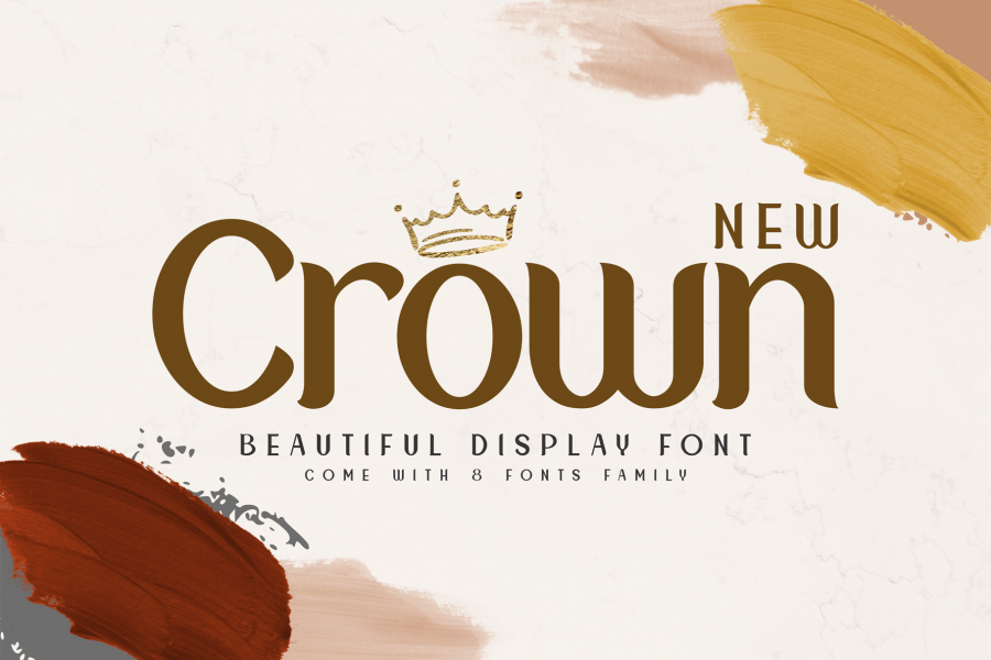 New-Crown-Font