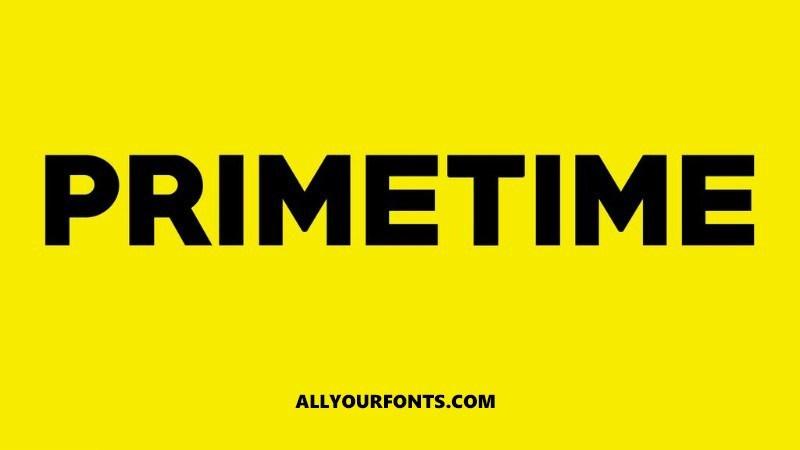 Primetime-Sans-Serif-Font-www.mockuphill.com