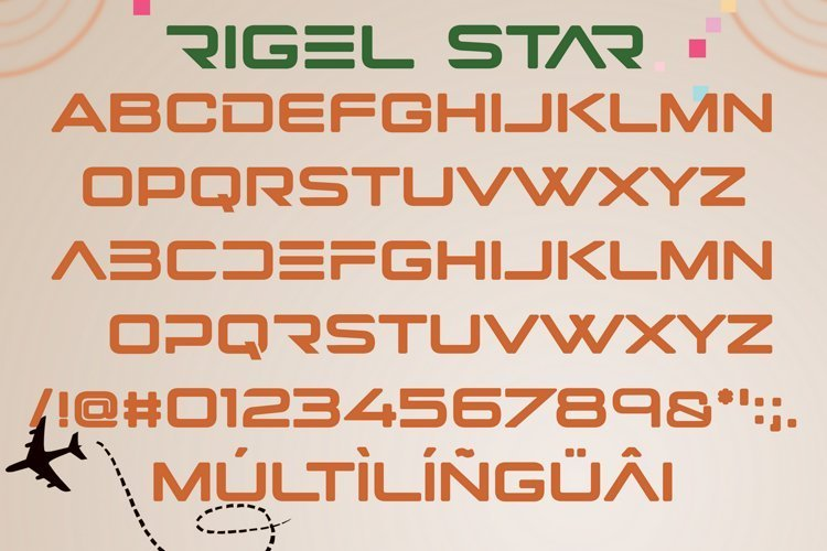 Rigel-Star-Futuristic-Display-Font-3