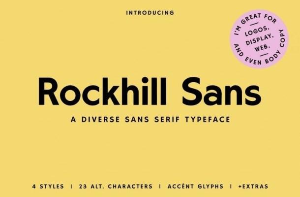 Rockhill Sans Serif Font
