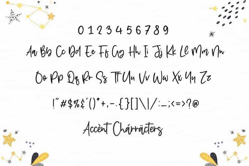 Starbeamer-Handwritten-Font-3