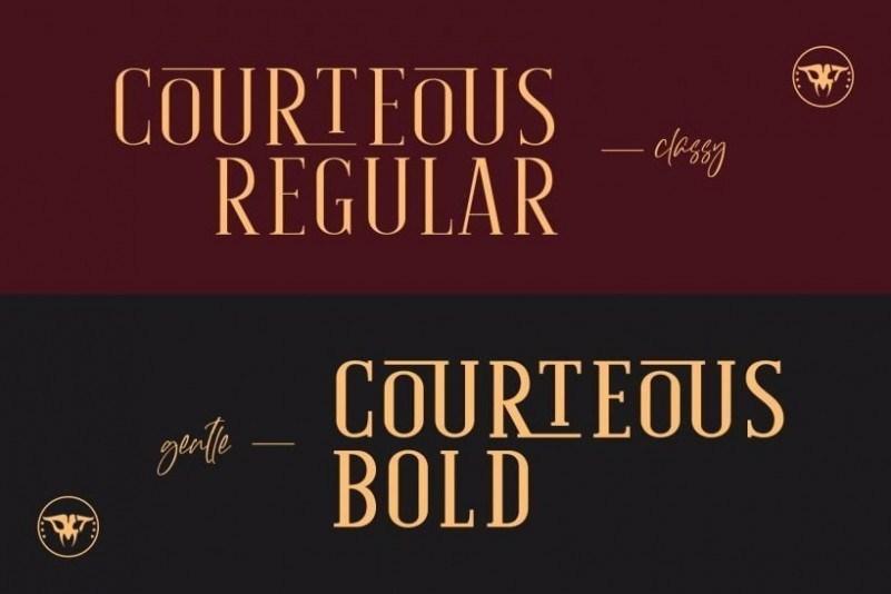 courteous-font-2