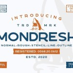 Mondresh Rough Sans Font