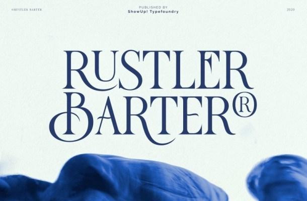 Rustler Barter Serif Font