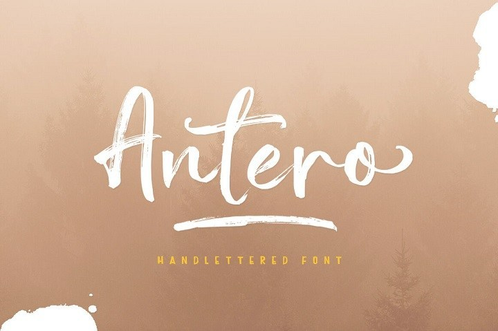 Antero-Brush-Font-5