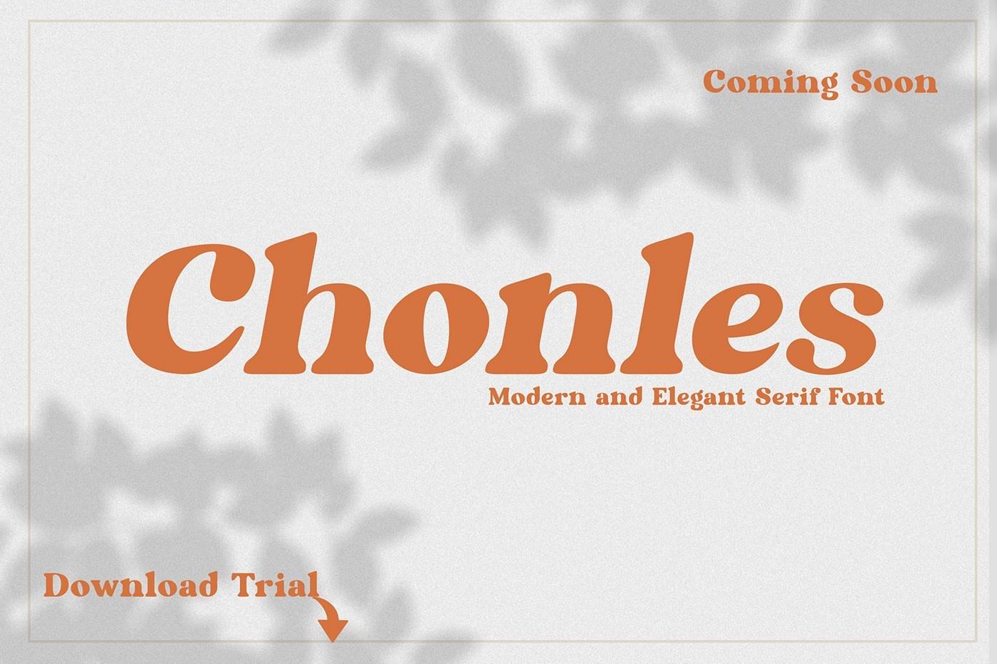 Chonles-Serif-Font