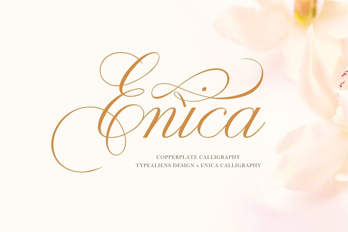 Enica-Calligraphy-Font-1