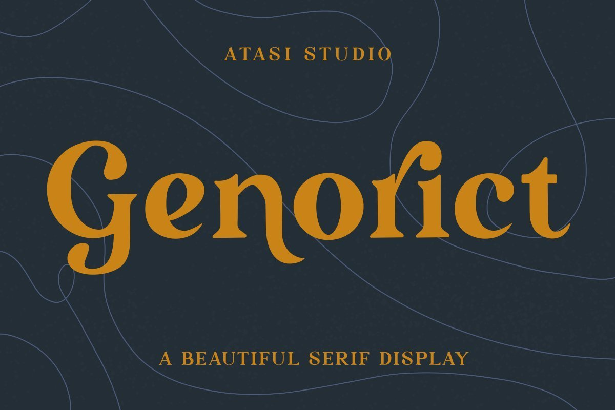 Genorict-Serif-Display-Font-1