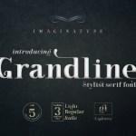 Grandline Stylist Serif Font