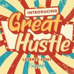 Great Hustle Bold Display Font