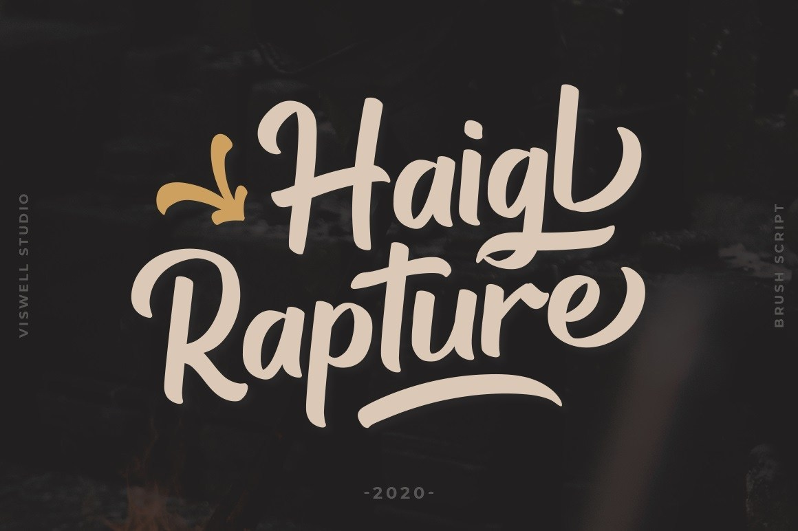 Haigl-Rapture-Bold-Script-Font-1
