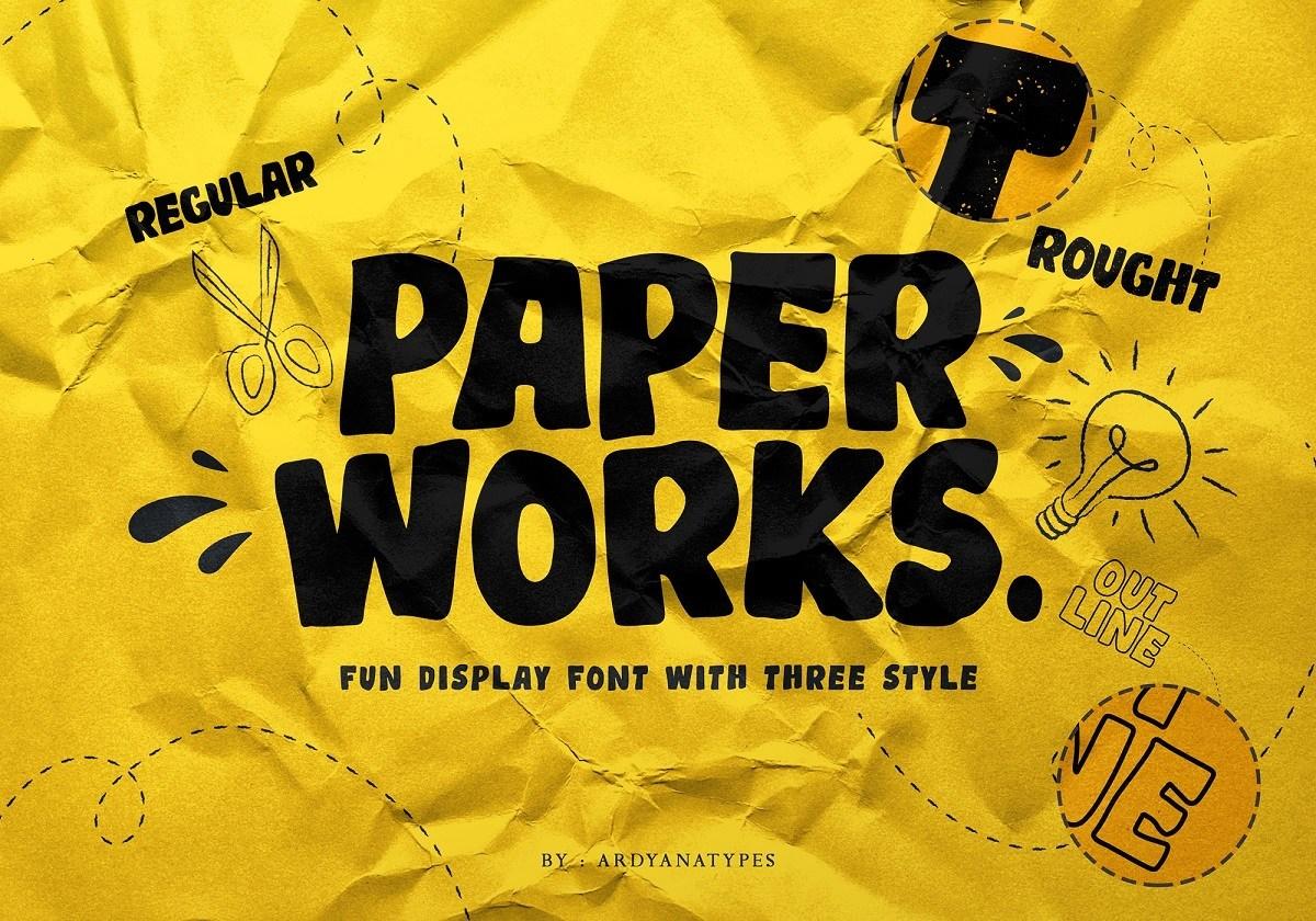 Paper-Works-Display-Font-1