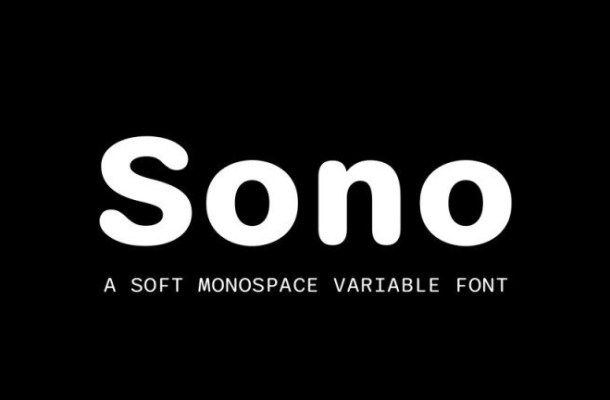 Sono Sans Serif Font Family