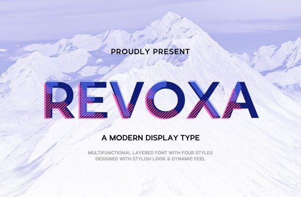 Revoxa Display Font