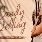 Candy Qelling Brush Script Font
