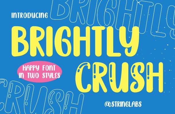 Brighly Crush Font