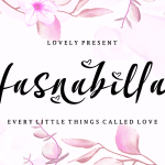 Hasnabilla Font